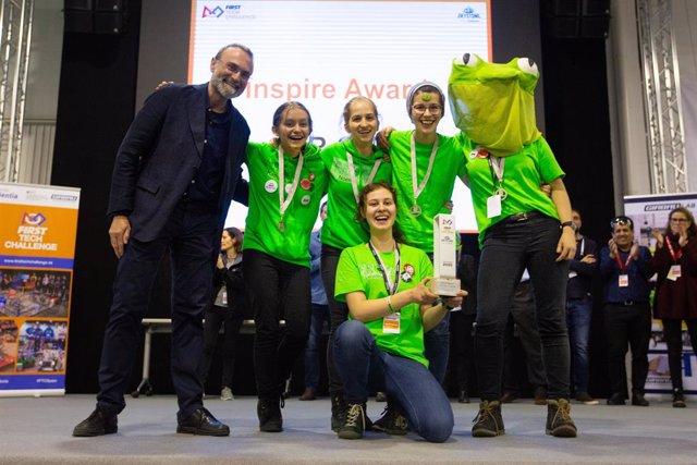 L'equip alemany F.R.O.G., guanyador de la First Tech Challenge