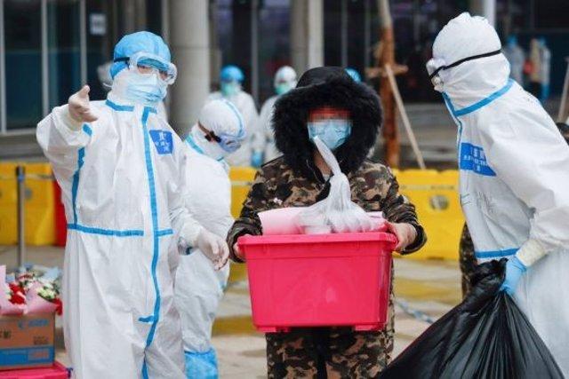 Vestits de protecció pel coronavirus a la Xina