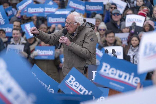 EEUU.- Sanders desbanca en financiación a sus rivales por la nominación demócrat