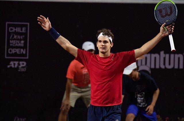 Tenis.- Thiago Seyboth Wild estrena su palmarés de la ATP en Santiago de Chile