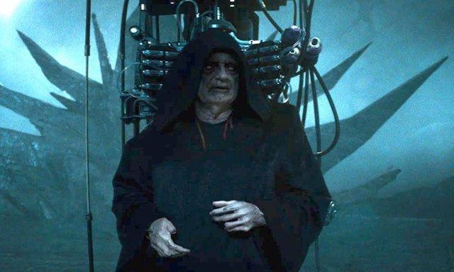 Palpatine en Star Wars: The Rise of Skywalker