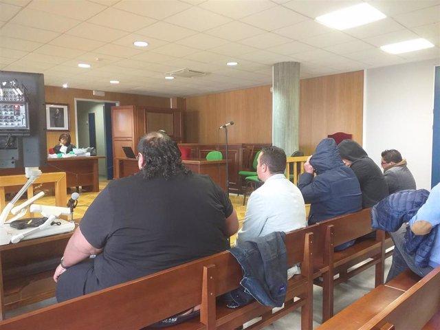 Suspendido por segunda vez el juicio contra un hermano de Sinaí Giménez y otros seis acusados por tráfico de drogas