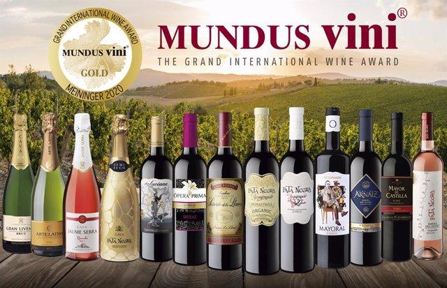 Economía-García Carrión gana 33 medallas en 'Mundus Vini' y 23 en 'Berliner Wine