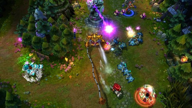 League of Legends ingame, Riot Games, MOBA