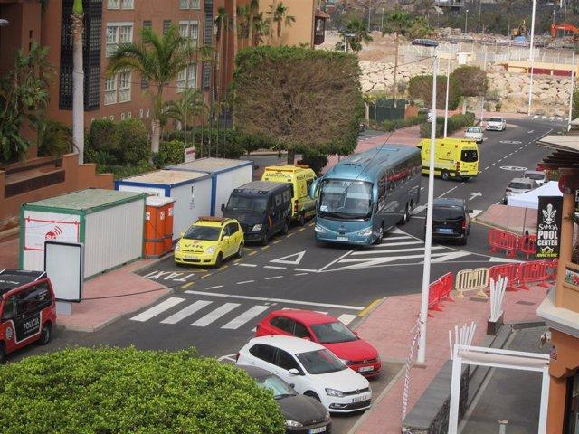 Trib.- El juez ratifica la cuarentena por coronavirus en el hotel de Tenerife