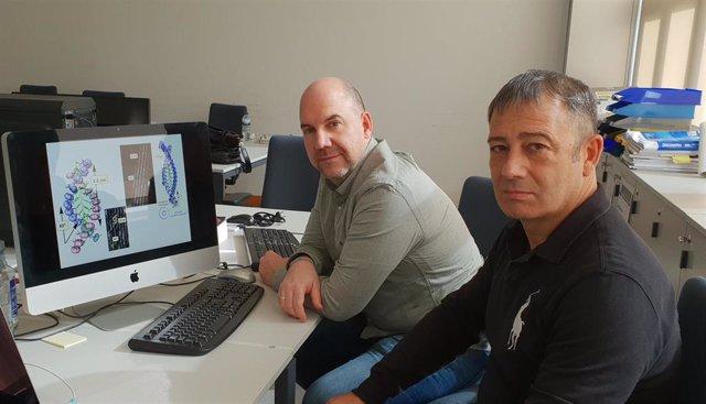 Félix Freire y Emilio Quiñoá, investigadores del CiQUS