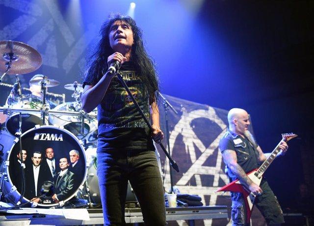 Anthrax In Concert At Brooklyn Bowl Las Vegas