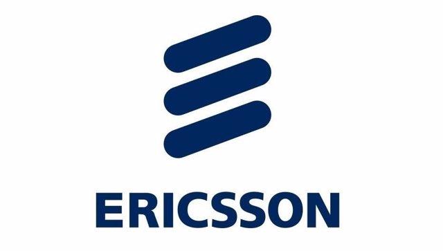 Logo de Ericsson