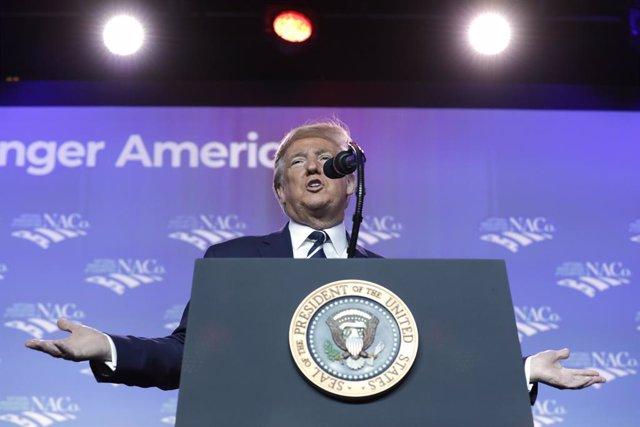 Afganistán.- Trump confirma que mantuvo una conversación con un alto cargo de lo