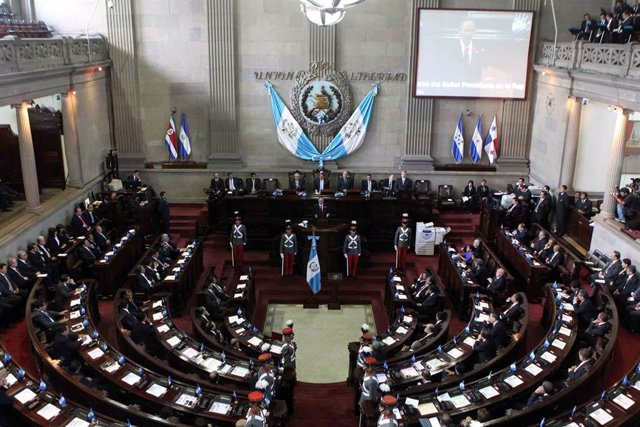 Imagen de archivo del Congreso de Guatemala.
