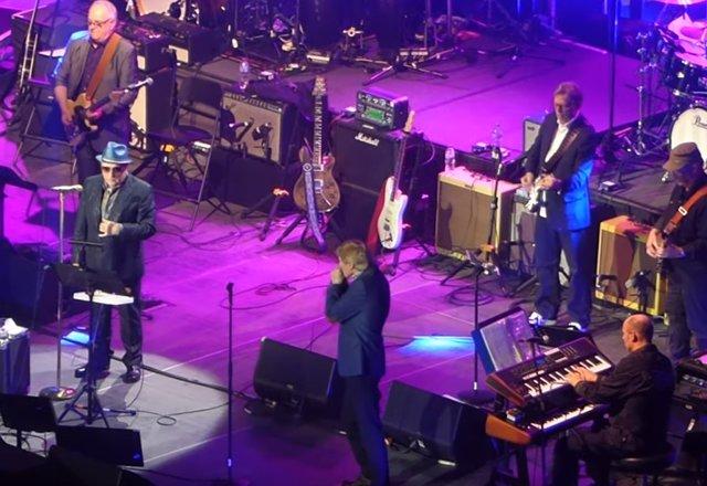 Van Morrison, Eric Clapton y amigos