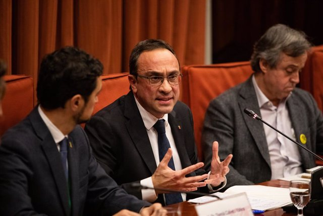 L'exconseller de Territori i Sostenibilitat, Josep Rull.