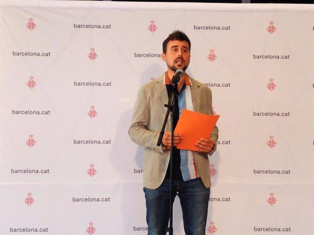 El regidor de Barcelona Marc Serra.