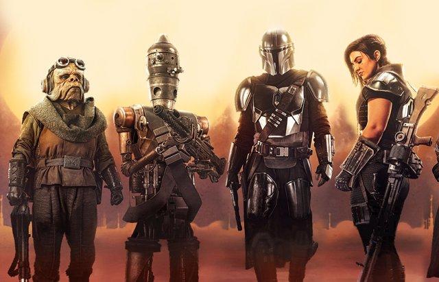 Personajes de The Mandalorian, la serie de Star Wars