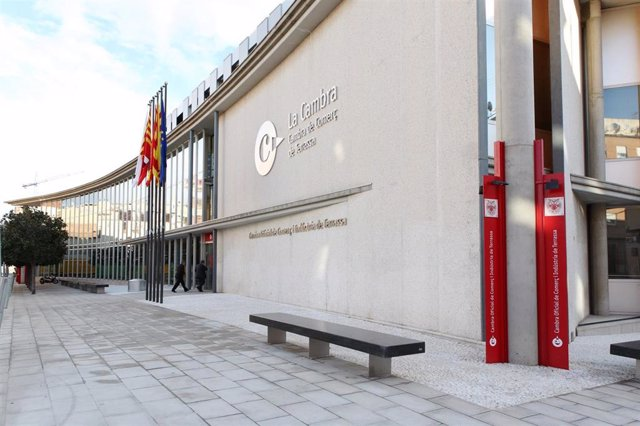 Cámara De Comercio De Terrassa (Barcelona), en una imagen de archivo