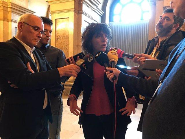 La consellera d'Agricultura, Ramaderia, Pesca i Alimentació, Teresa Jordà.