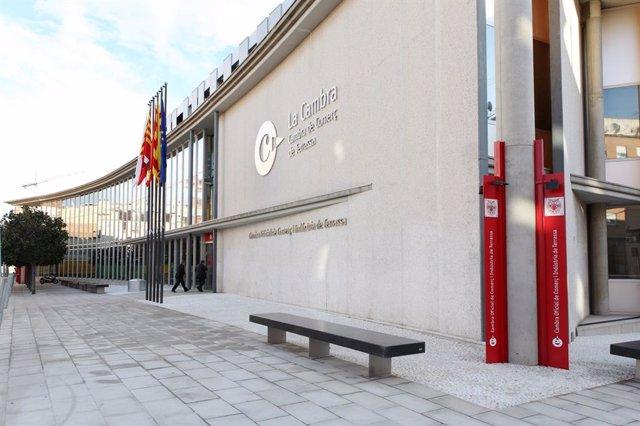 Cambra de Comerç de Terrassa (Barcelona), en una imatge d'arxiu.