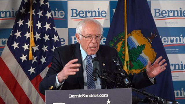 El senador per Vermont Bernie Sanders.