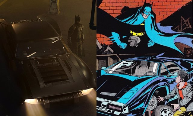 El nuevo batmovil está inspirado en un importante cómic de DC