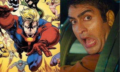 Los Eternos de Marvel tendrá un baile al estilo Bollywood con Kumail Nanjiani