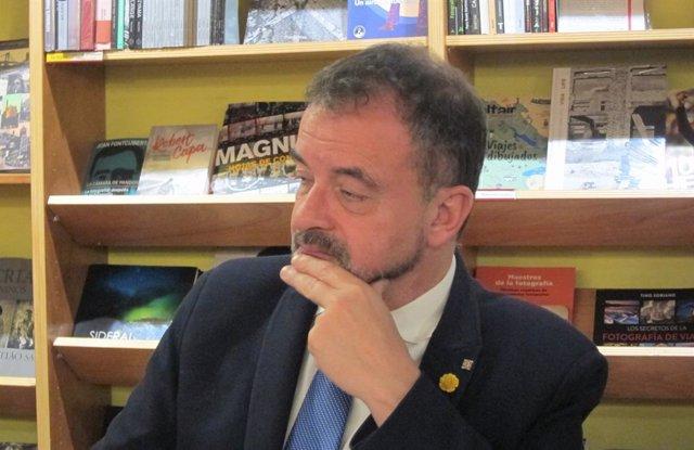 El conseller Alfred Bosch