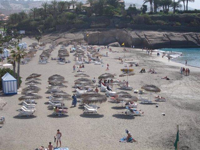 Playa del Duque, en Tenerife