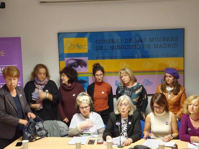 Movimiento Feminista de Madrid presenta su manifiesto por el 8M en el que exige el fin de la violencia machista: