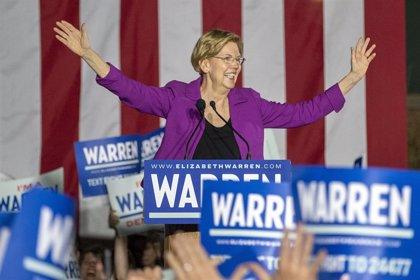 EEUU.- Elizabeth Warren se retira de las primarias tras el fracaso del 'supermartes'