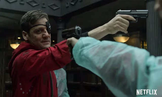 Imagen de la cuarta temporada de La Casa de Papel