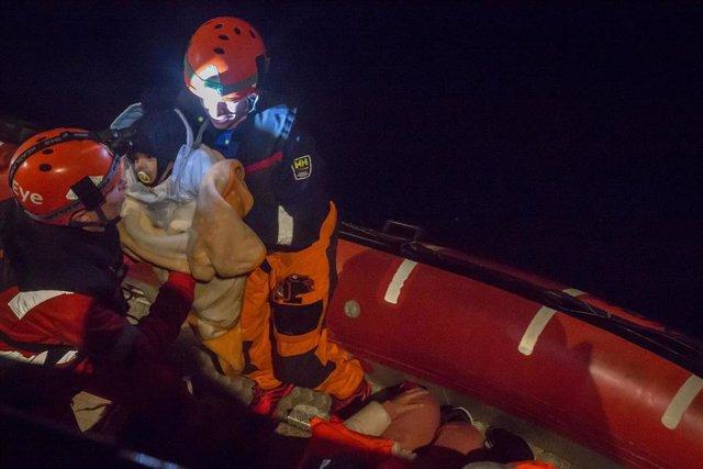 Rescate del barco 'Alan Kurdi'