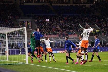 La UEFA confirma a puerta cerrada el Valencia-Atalanta y el Inter-Getafe