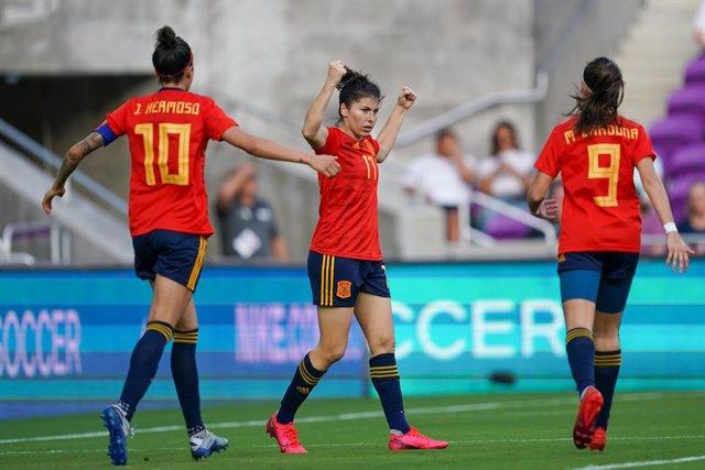 Fútbol/Selección.- España debuta con victoria ante Japón en la 'She Believes Cup