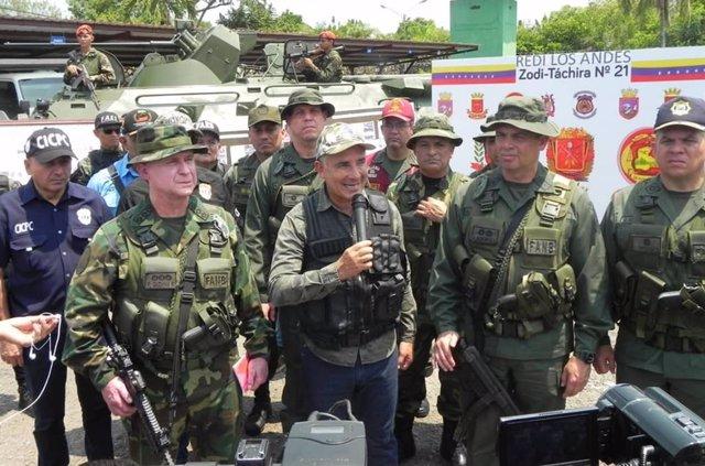 El protector del estado de Táchira designado por el Gobierno de Venezuela, Freddy Bernal.