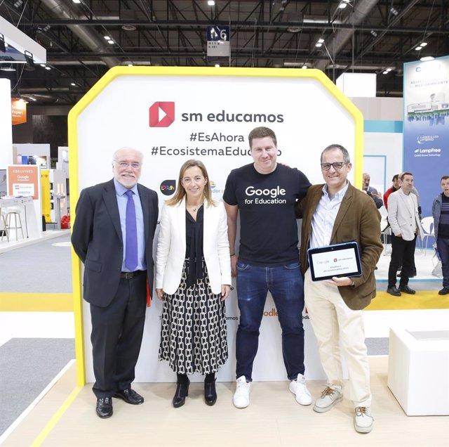 COMUNICADO: Google for Education y SM Educamos se unen para potenciar sus funcio
