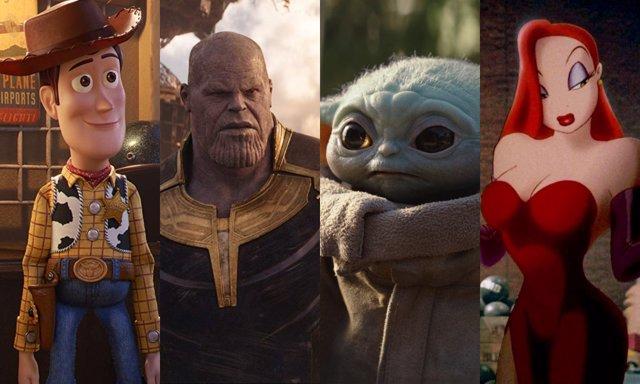 Toy Story 4, Vengadores: Infinity War, The Mandalorian y ¿Quién engañó a Roger Rabbit?, entre los títulos que aparecerán en el catálogo de Disney+