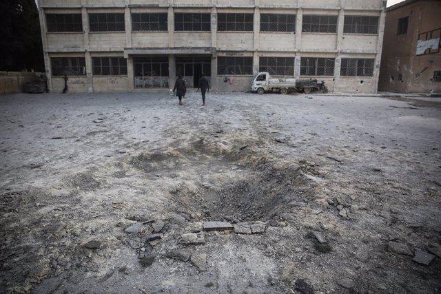 Siria.- Seis militares sirios y nueve rebeldes muertos en combates en el noroest