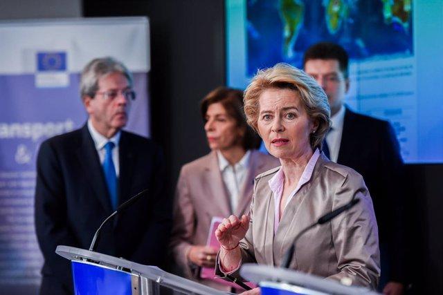 Coronavirus.- Los 27 suspenden una reunión a nivel de embajadores en Bruselas po