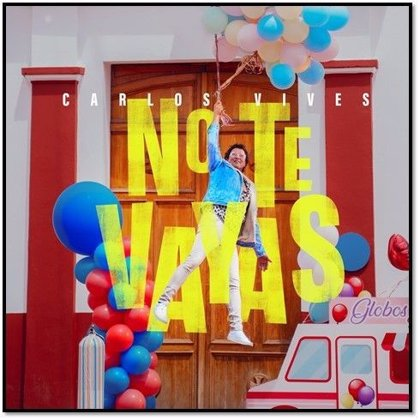 Carlos Vives te pide que 'No te vayas' en una divertida historia de amor desesperado