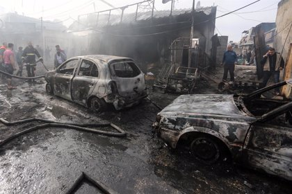 O.Próximo.- Aumentan a diez los muertos por la explosión de una panadería en la Franja de Gaza