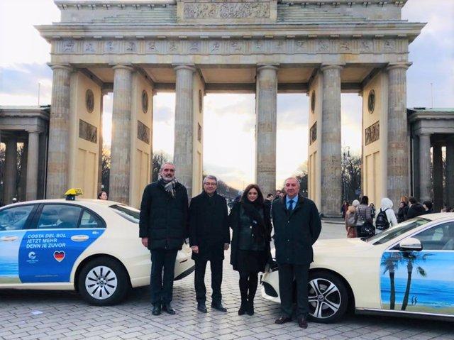 Campaña de Turismo Costa del Sol en Taxis de Berlín