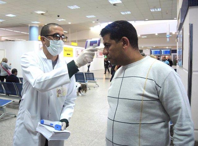 Coronavirus.- Egipto confirma otros doce nuevos casos de coronavirus en un cruce