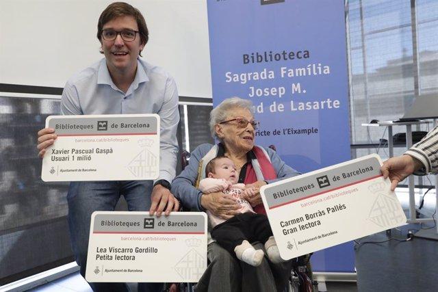 Durant l'acte s'ha reconegut la usuria més veterana, amb 102 anys; la més jove, que es va fer carnet de soci amb tan sols 17 dies i també a l'usuari número un milió.