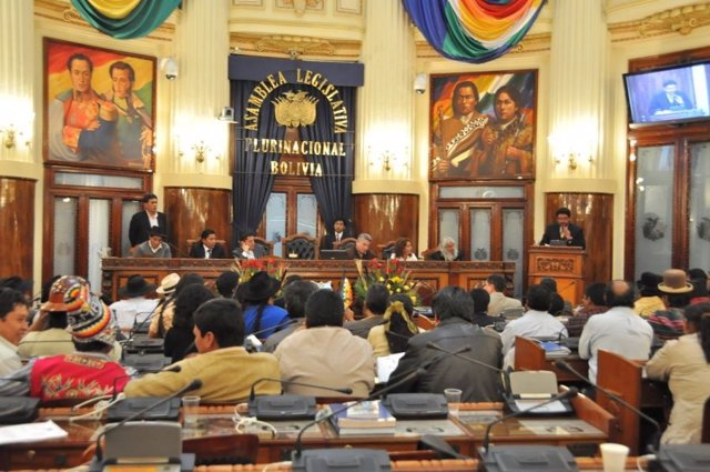 Bolivia.- La Asamblea Legislativa censura al ministro de Defensa por no acudir a