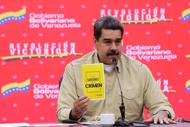 Venezuela.- Maduro denuncia que EEUU quiere empujar a Brasil a un conflicto arma