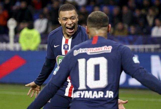 Kylian Mbappé i Neymar amb el París Saint-Germain PSG