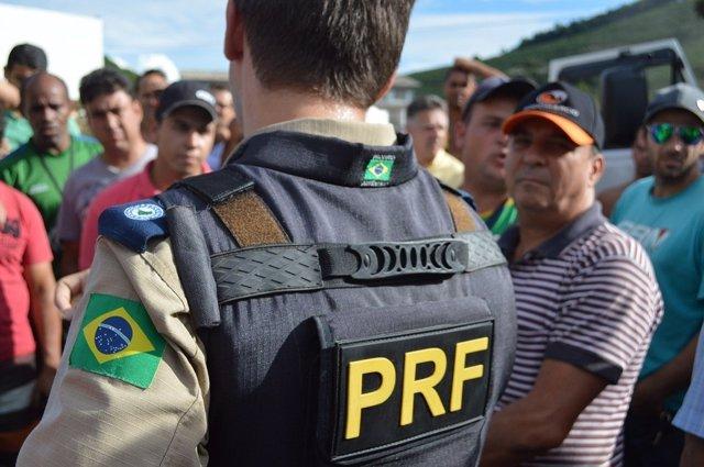 Policía en Brasil