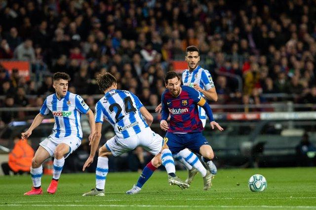 Fútbol/Primera.- Crónica del FC Barcelona - Real Sociedad, 1-0