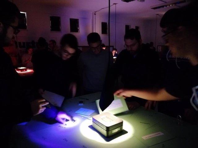 Celebración del 'escape room' del Instituto de Educación Secundaria (IES) Fidiana de Córdoba.