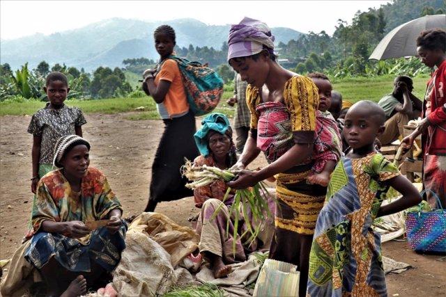 Desplazados internos en Kivu Norte, en el este de RDC