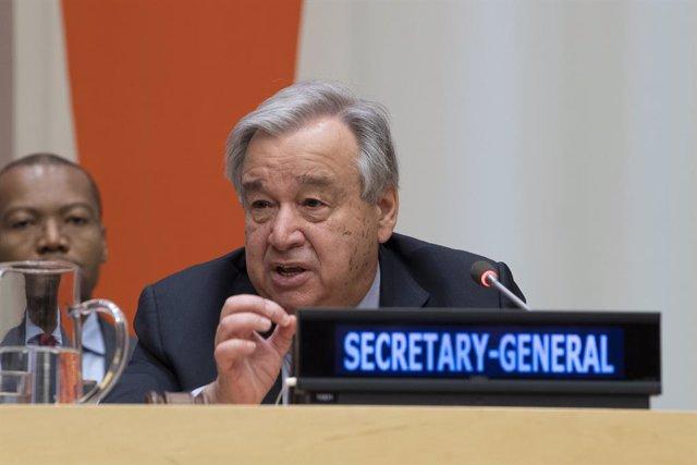 """8M.- Guterres pide más poder para las mujeres para acabar con """"siglos de discrim"""